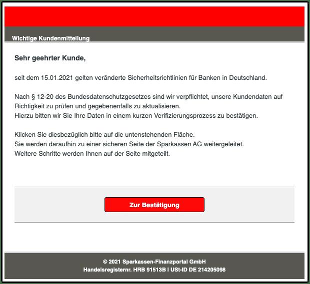 2021-02-18 Phishing Sparkasse
