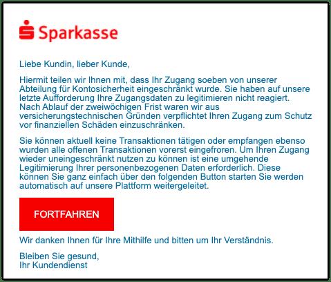 2021-02-18 Phishing Sparkasse2