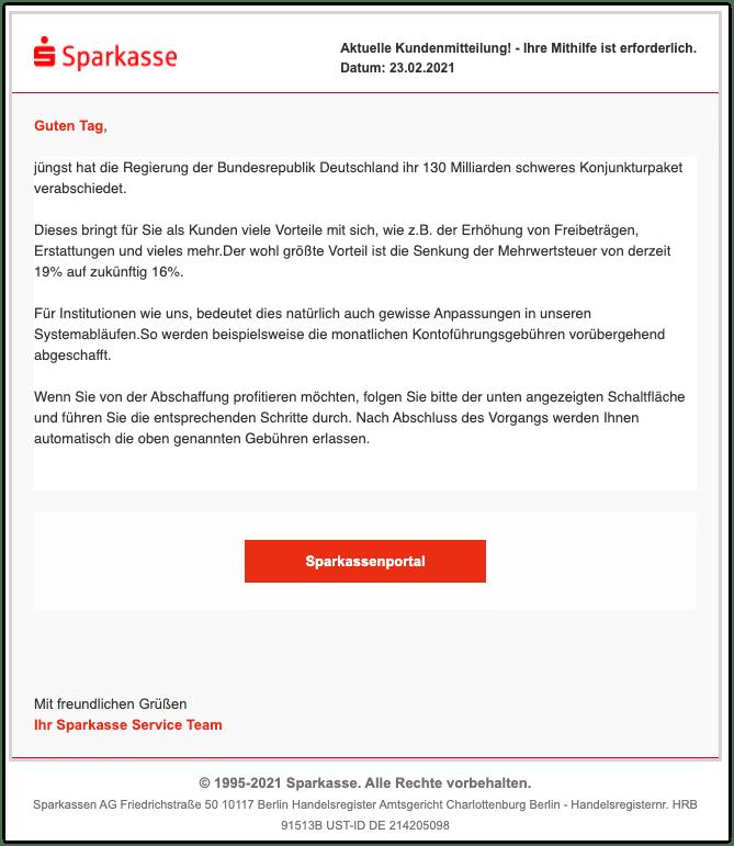 2021-02-24 Phishing Sparkasse