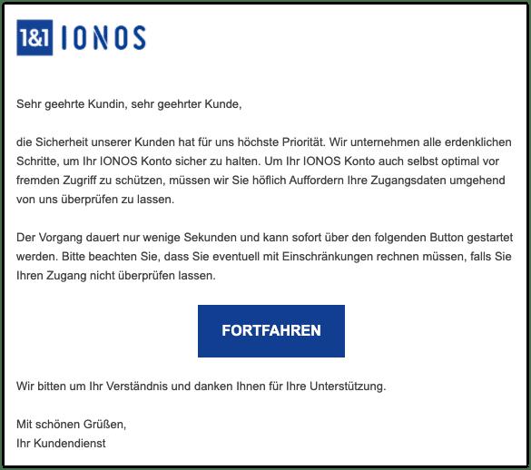 2021-02-25 Phishing IONOS