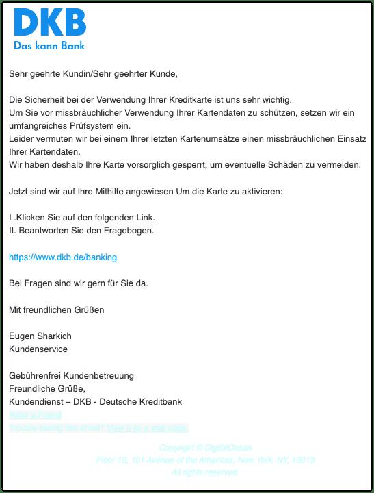 2021-03-03 Phishing DKB