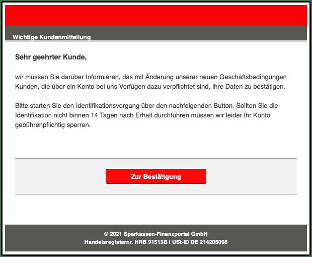 2021-03-05 Phishing Sparkasse