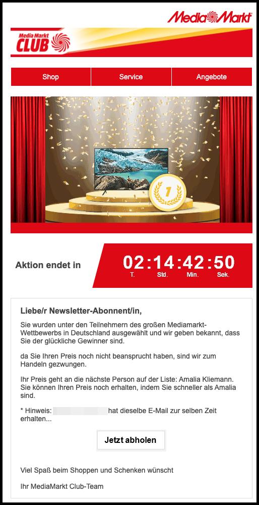 2021-03-09 Spam MediaMarkt