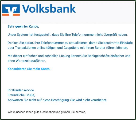 2021-03-11 Phishing Volksbank