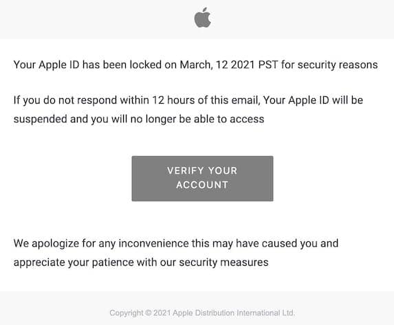 2021-03-13 Apple Phishing
