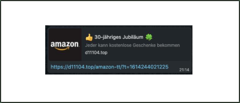 Amazon Gewinnspiel WhatsApp Link Logo
