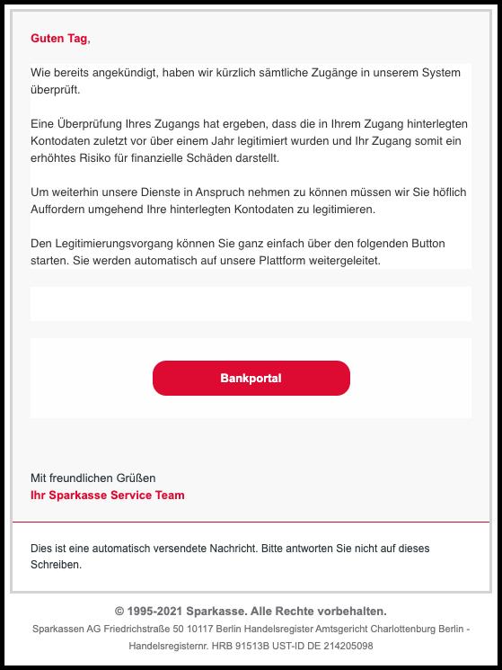 2021-03-10 Phishing Sparkasse