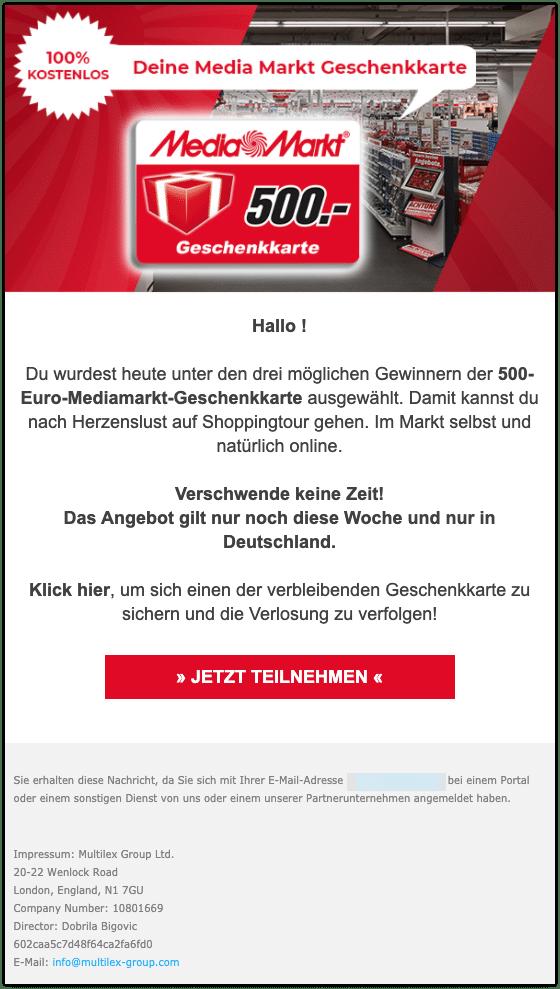 2021-03-11 Spam MediaMarkt