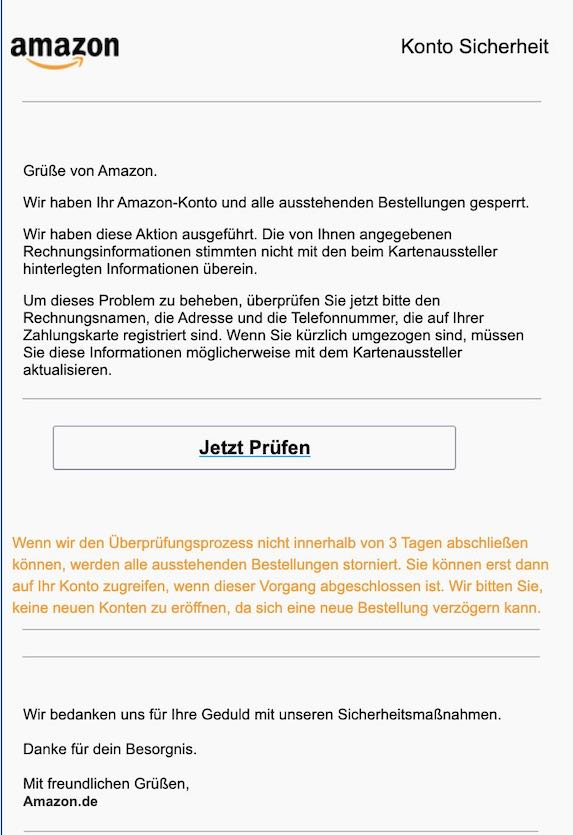 2021-03-12 Amazon Phishing