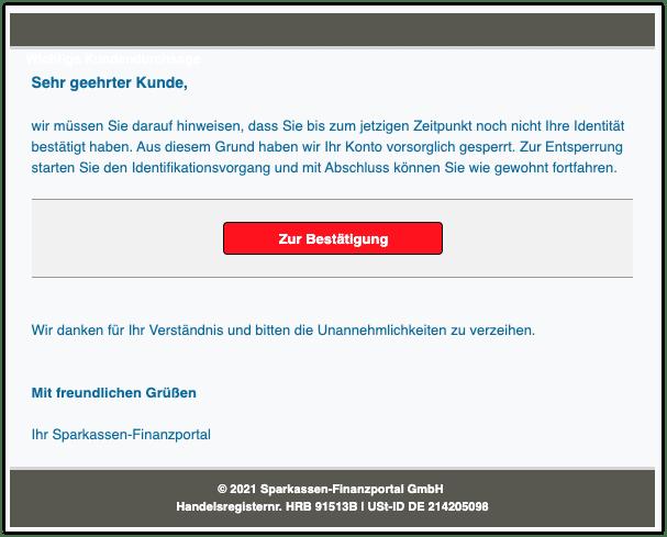 2021-03-15 Phishing Sparkasse