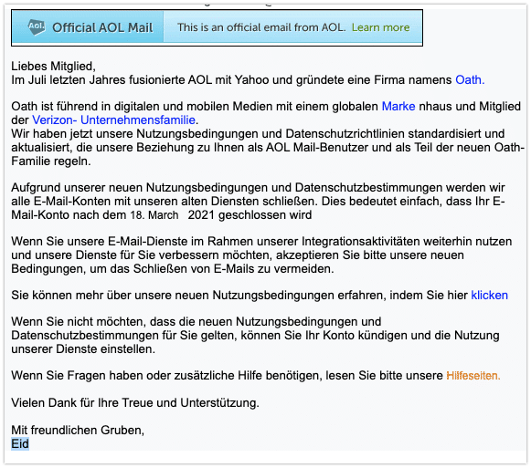 2021-03-16 Phishing AOL
