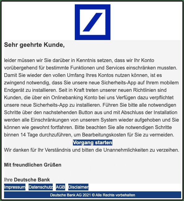 2021-03-16 Phishing Deutsche Bank 1