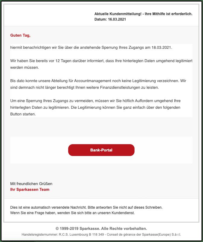 2021-03-17 Phishing Sparkasse1