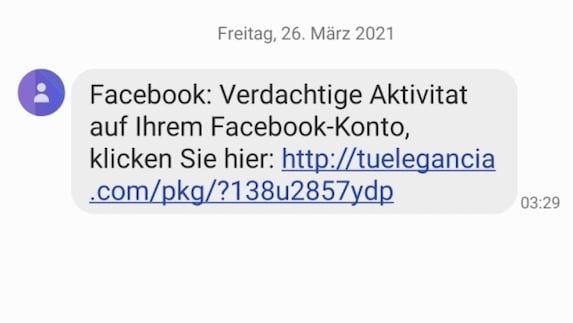 2021-03-26 Facebook SMS