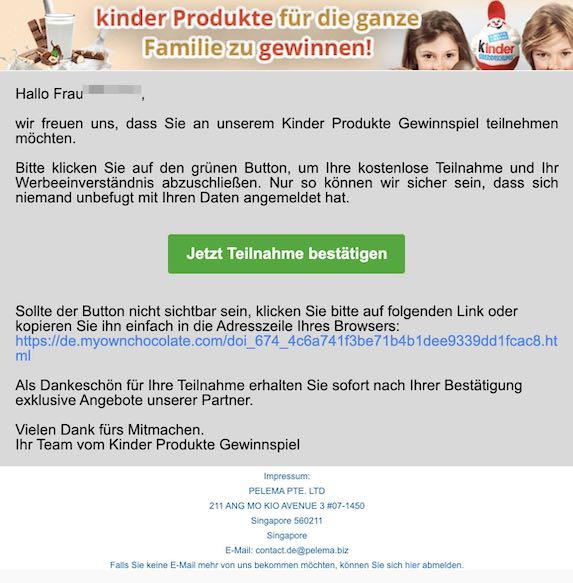 2021-03-26 Kinder Spam
