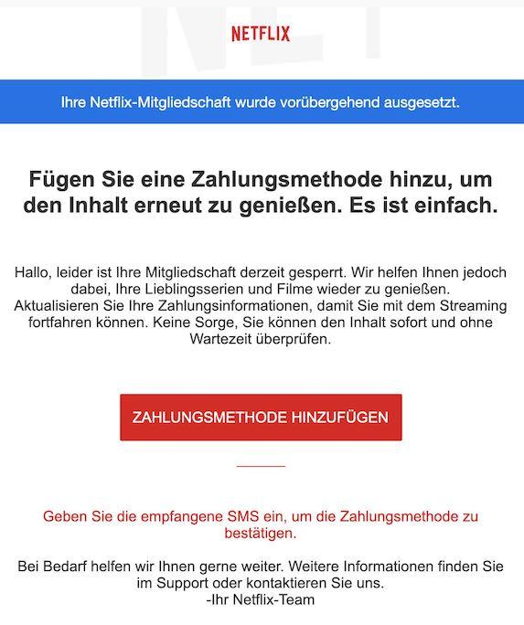 2021-03-26 Netflix Spam