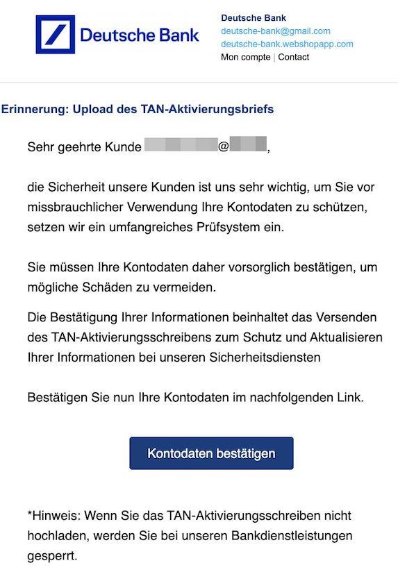2021-03-27 Deutsche Bank Spam