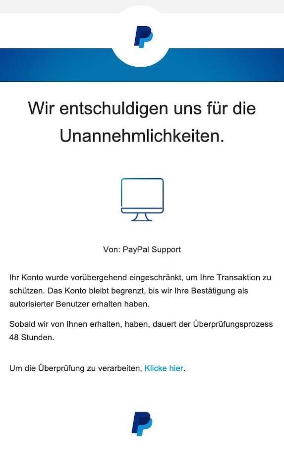 2021-03-28 PayPal Spam