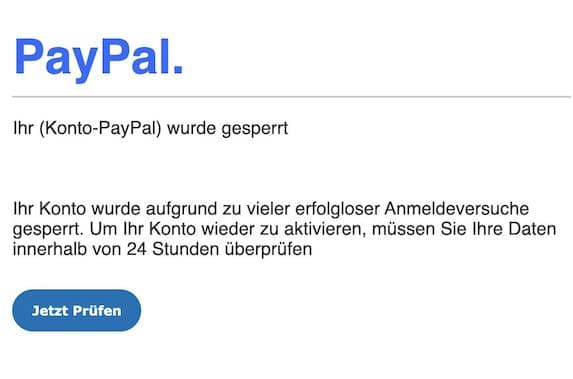 2021-03-29 PayPal Spam