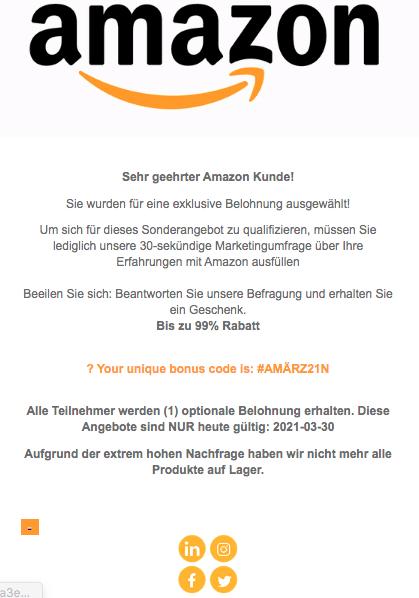 2021-03-30 Amazon Spam Fake-Mail