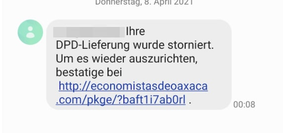 2021-04-08 SMS-Spam DPD