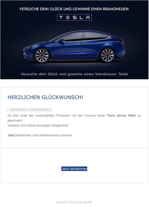 2021-04-26 Tesla Gewinnspiel