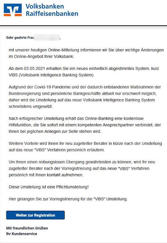 2021-04-27 VR-Bank Spam