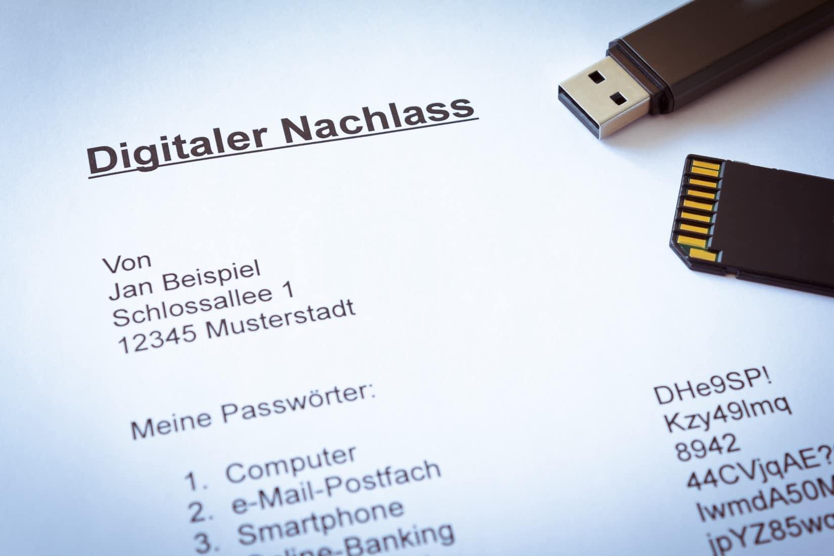 Digitaler Nachlass