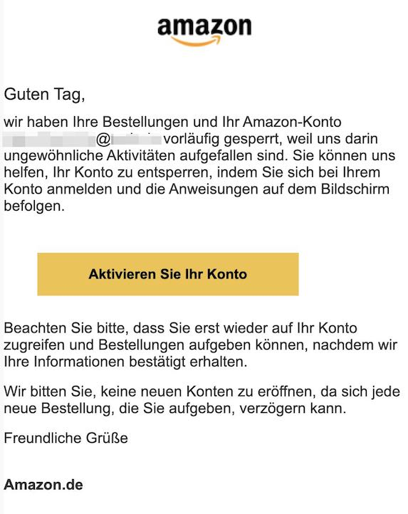 2021-03-13 Amazon phishing