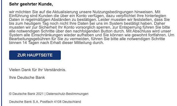 2021-04-19 DeutscheBank Spam