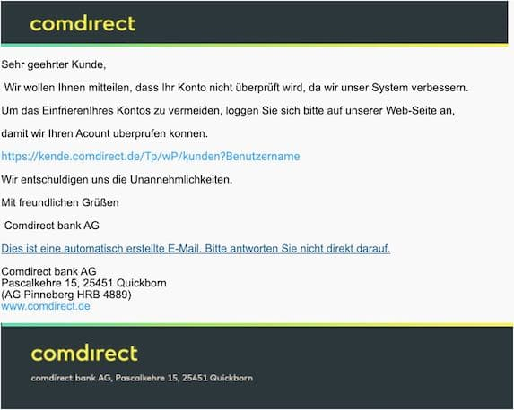 2021-04-22 Comdirect Spam 1