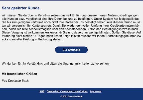 2021-04-27 Deutsche Bank Spam