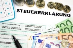 Steuerrückerstattung
