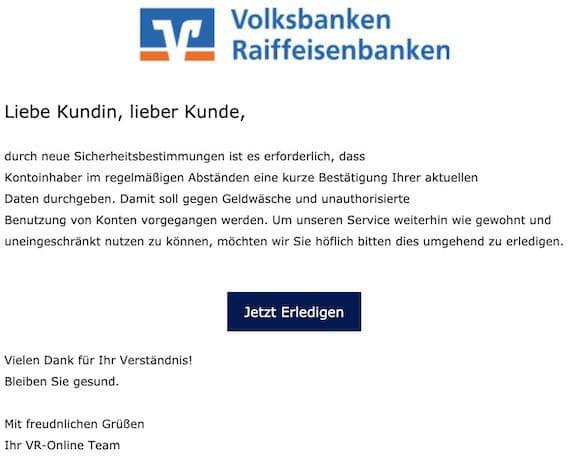 2021-05-07 VR-Bank Spam