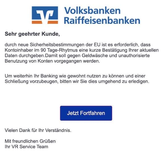 2021-05-14 VR-Bank Spam