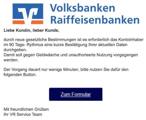 2021-05-25 VR-Bank Spam