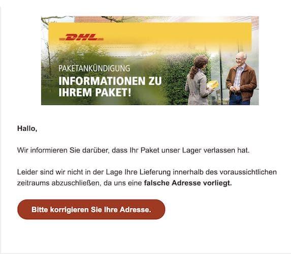 2021-07-20 DHL Spam