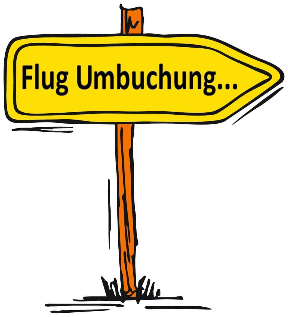 Flugumbuchung