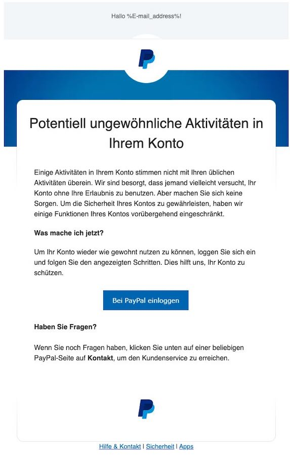 2021-08-12 PayPal Spam