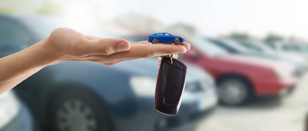 Schlüssel Auto Schlüsselanhänger Symbolbild