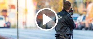 Blitzer Polizei Geschwindigkeit Symbolbild