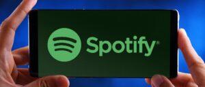 Spotify Smartphone Symbolbild