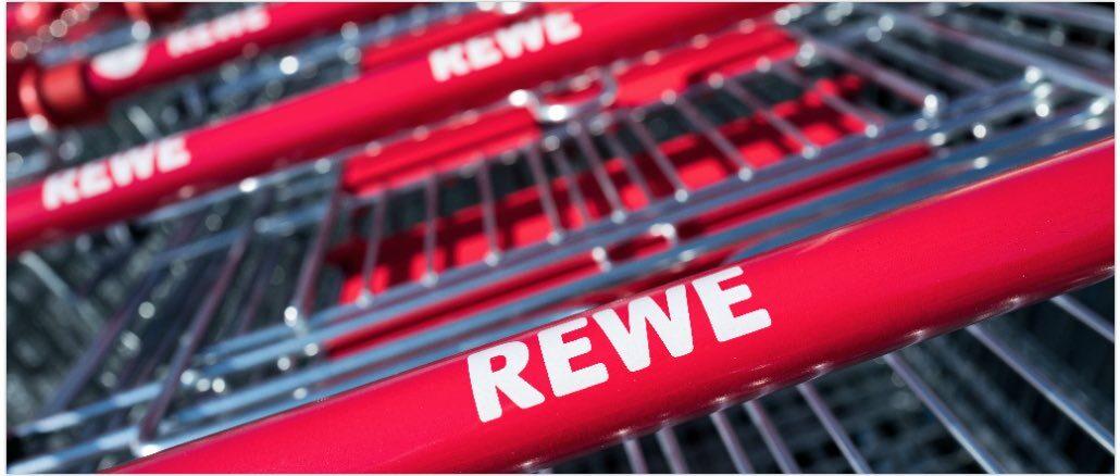 Rewe-Einkauswagen-Symbolbild